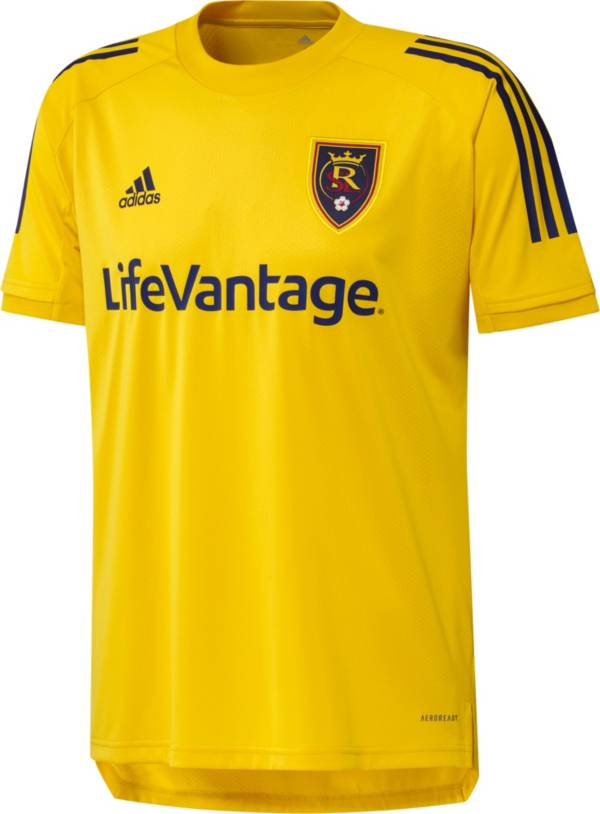 adidas Men's Real Salt Lake Yellow Training Jersey product image