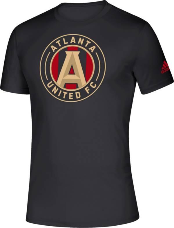 adidas Men's Atlanta United Big Logo Black T-Shirt product image