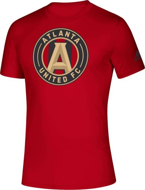 adidas Men's Atlanta United Big Logo Red T-Shirt product image