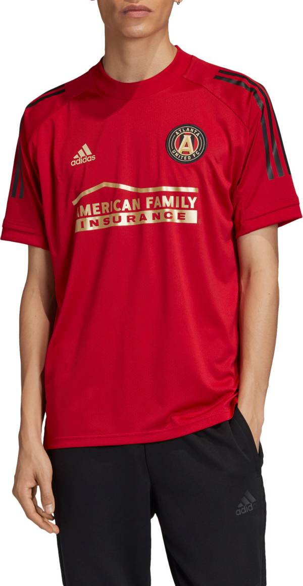 adidas Men's Atlanta United Red Training Jersey product image