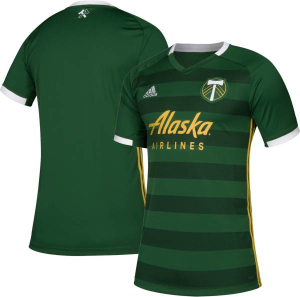 adidas Men's Portland Timbers Primary Replica Jersey product image