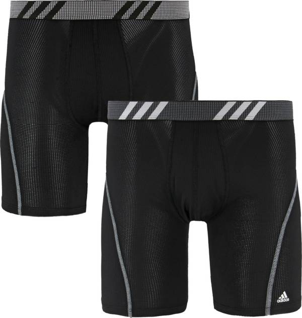 adidas Men's Sport Performance Mesh Midway Boxer Briefs – 2 Pack product image