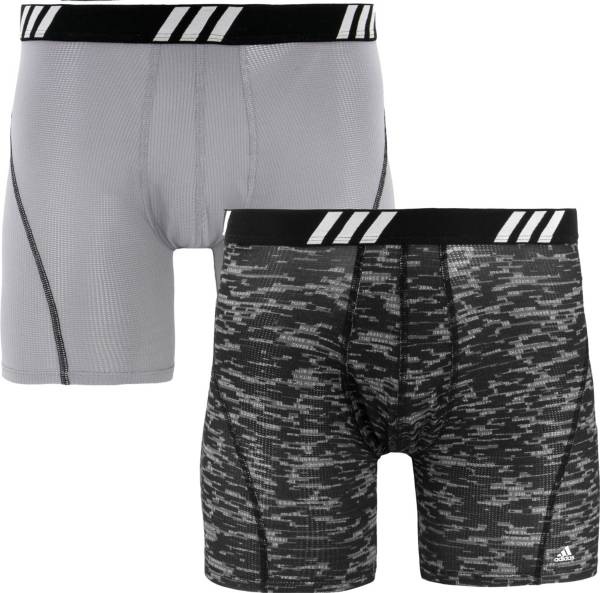 adidas Men's Sport Performance Mesh Graphic Boxer Briefs – 2 Pack product image