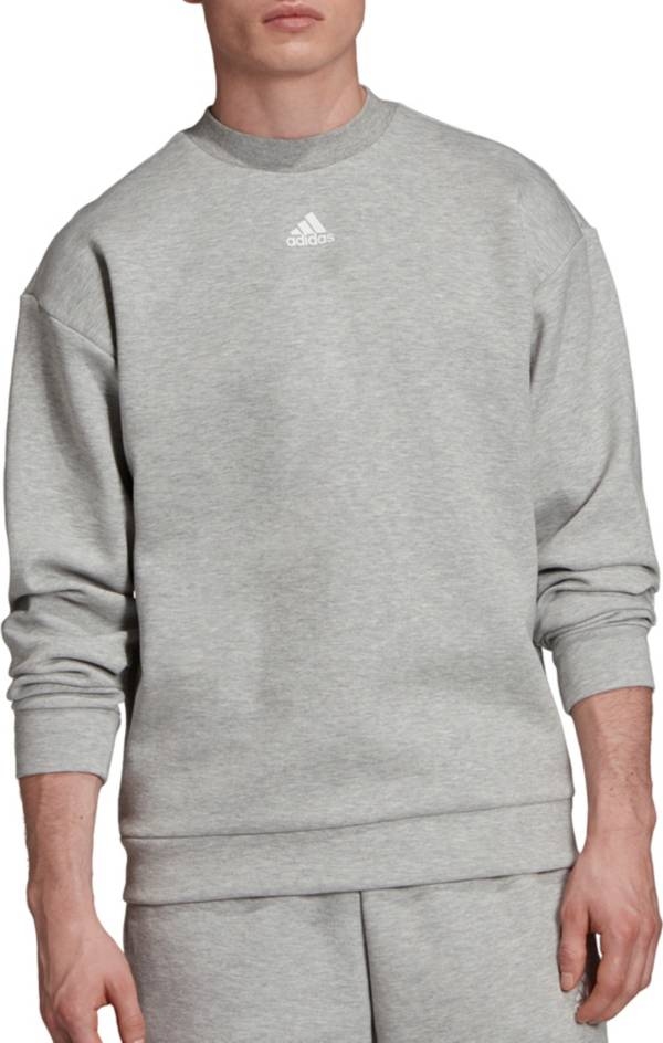 adidas Men's Must Haves 3-Stripes Crew Sweatshirt product image