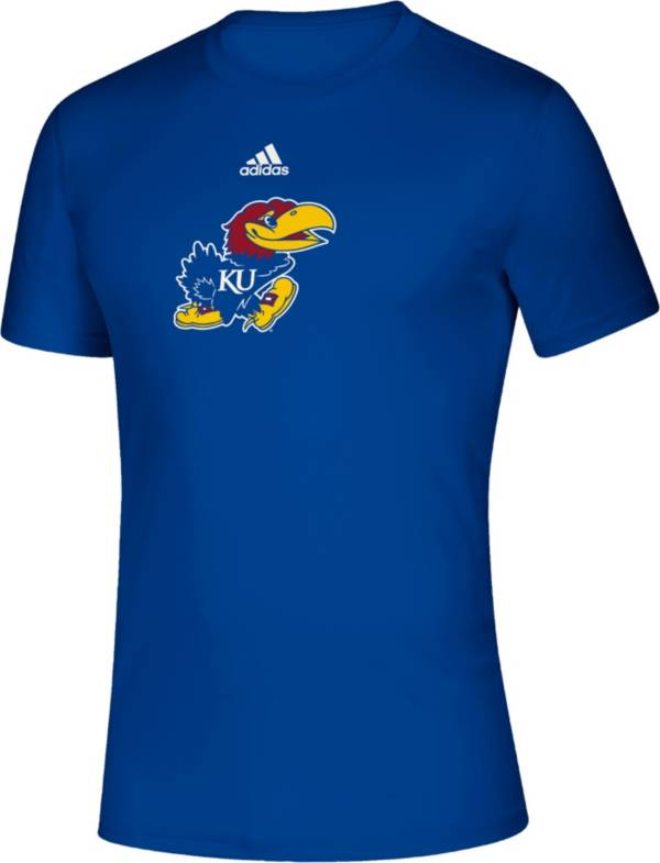 adidas Men's Kansas Jayhawks Blue Locker Room Logo Creator T-Shirt product image