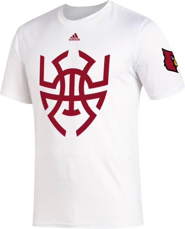 adidas shirt mens white
