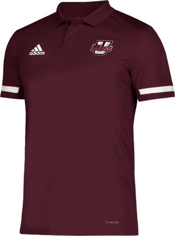 adidas Men's UMass Minutemen Maroon Team 19 Sideline Football Polo product image