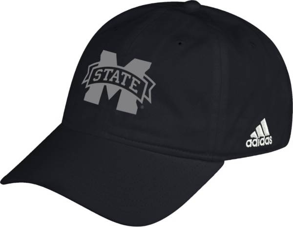 adidas Men's Mississippi State Bulldogs Black Slouch Adjustable Hat product image