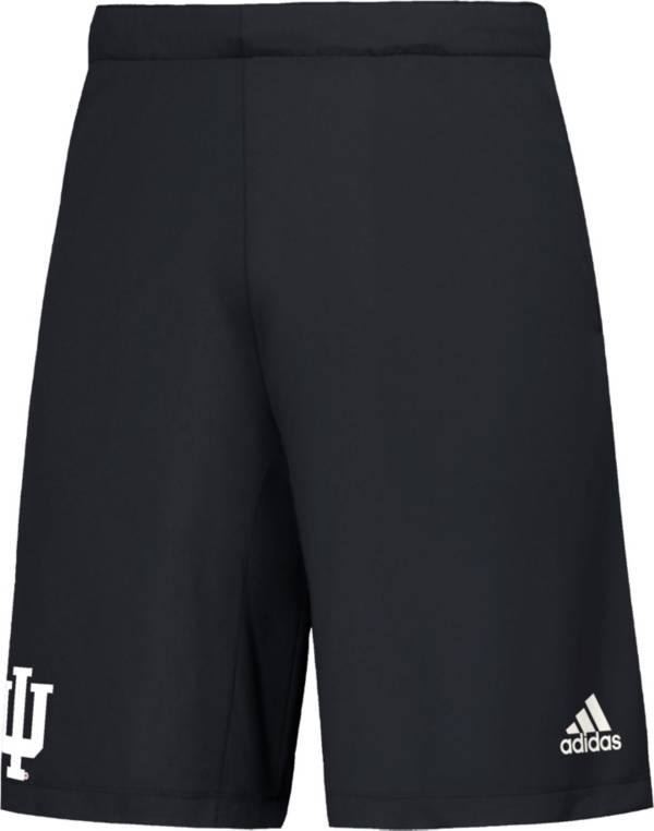 adidas Men's Indiana Hoosiers Game Mode Woven Black Shorts product image