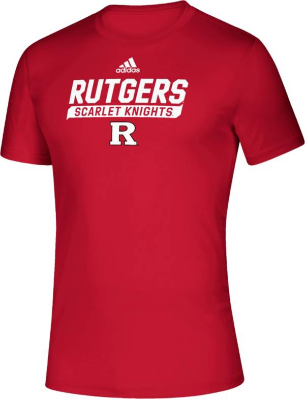 adidas Men's Rutgers Scarlet Knights Scarlet Tail Sweep Performance T-Shirt product image