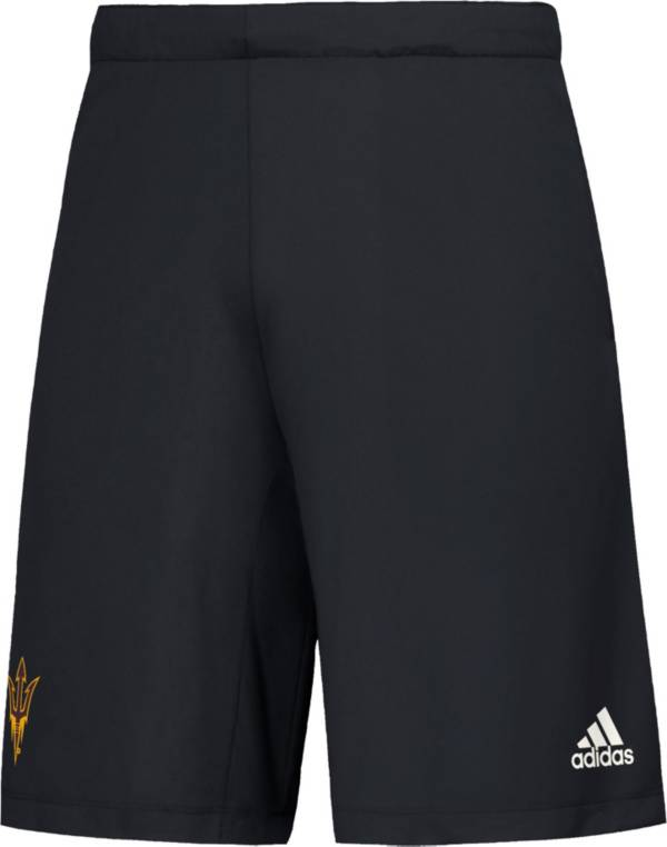 adidas Men's Arizona State Sun Devils Game Mode Woven Black Shorts product image