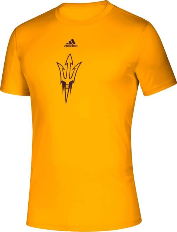 adidas Men's Arizona State Sun Devils Gold Locker Room Logo Creator T-Shirt product image