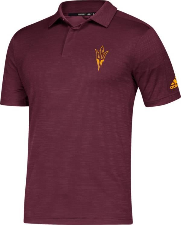 adidas Men's Arizona State Sun Devils Maroon Game Mode Sideline Polo product image