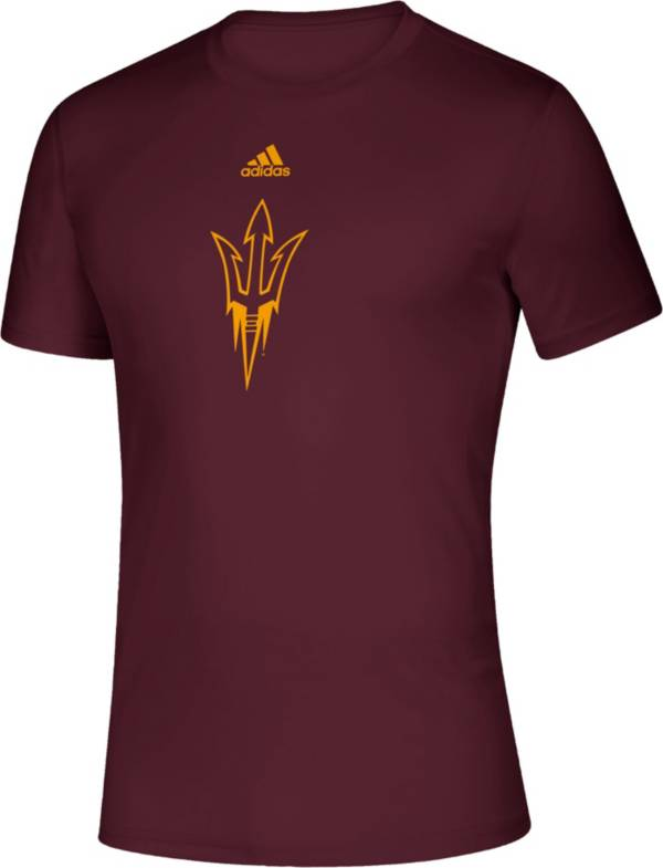 adidas Men's Arizona State Sun Devils Maroon Locker Room Logo Creator T-Shirt product image