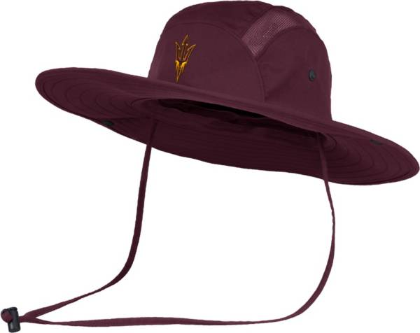 adidas Men's Arizona State Sun Devils Maroon Safari Performance Hat product image