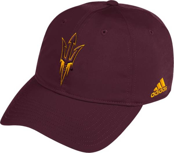 adidas Men's Arizona State Sun Devils Maroon Coach Slouch Sideline Hat product image