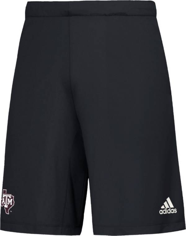 adidas Men's Texas A&M Aggies Game Mode Woven Black Shorts product image