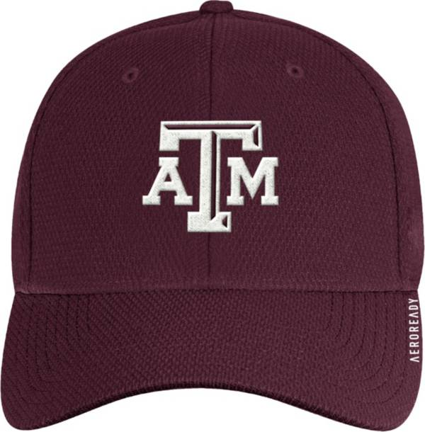adidas Men's Texas A&M Aggies Maroon Coach Stretch Flex Fitted Hat product image