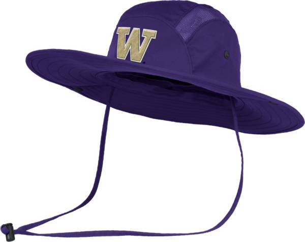 adidas Men's Washington Huskies Purple Safari Performance Hat product image