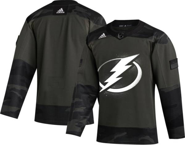 adidas Men's Tampa Bay Lightning Camo Authentic Pro Jersey product image