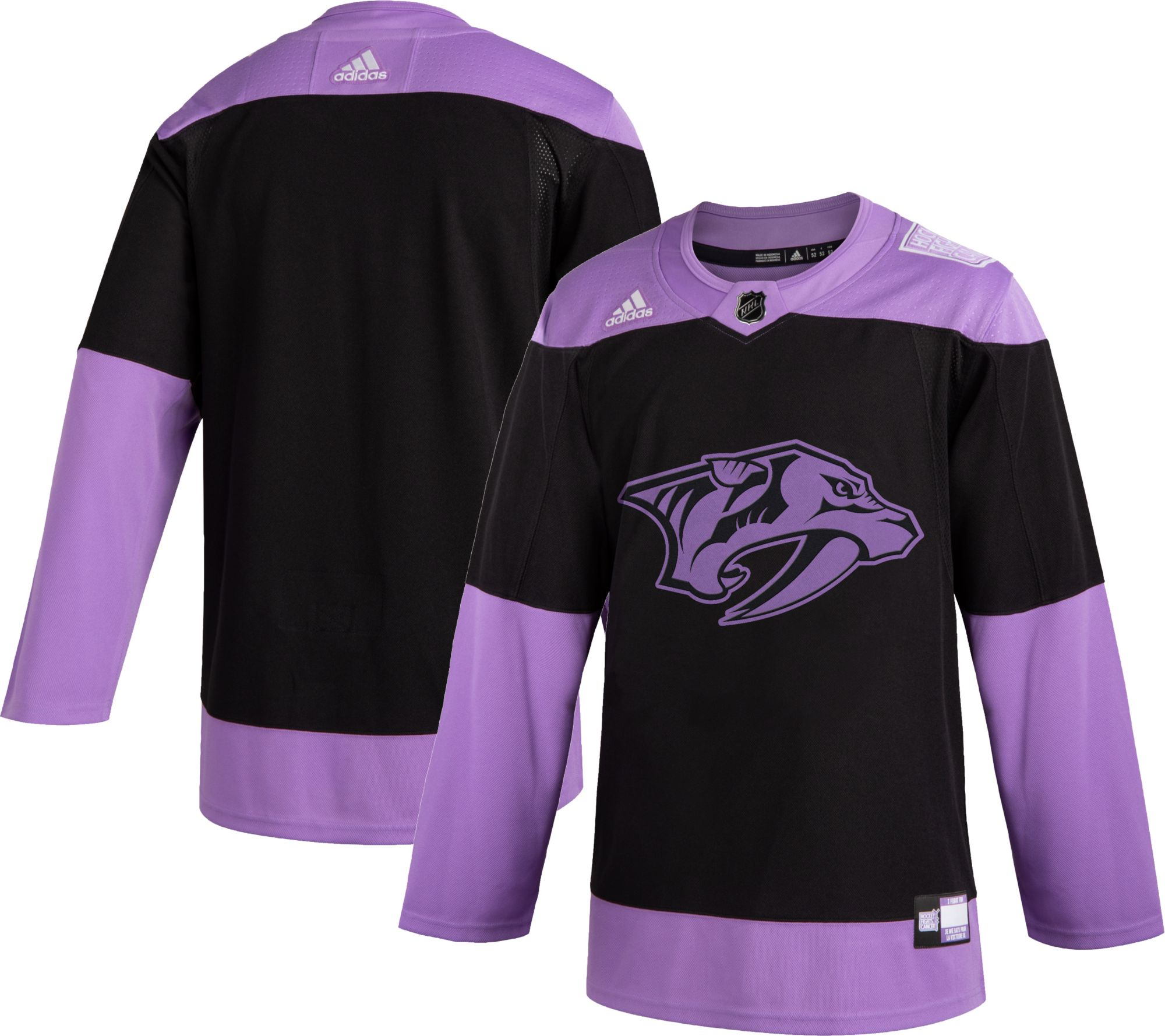 pink predators jersey