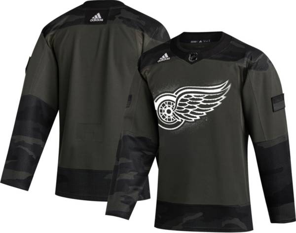 adidas Men's Detroit Red Wings Camo Authentic Pro Jersey product image