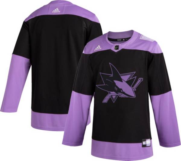 adidas Men's San Jose Sharks Hockey Fights Cancer Authentic Pro Jersey product image