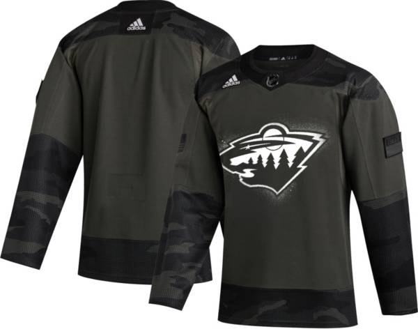 adidas Men's Minnesota Wild Camo Authentic Pro Jersey product image