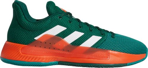5fda4a623701 adidas Men s Pro Bounce Madness Low 2019 Miami Hurricanes Basketball Shoes