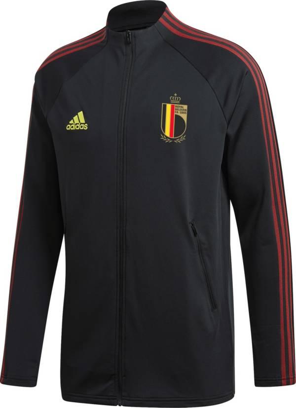 adidas Men's Belgium Anthem Black Full-Zip Jacket product image