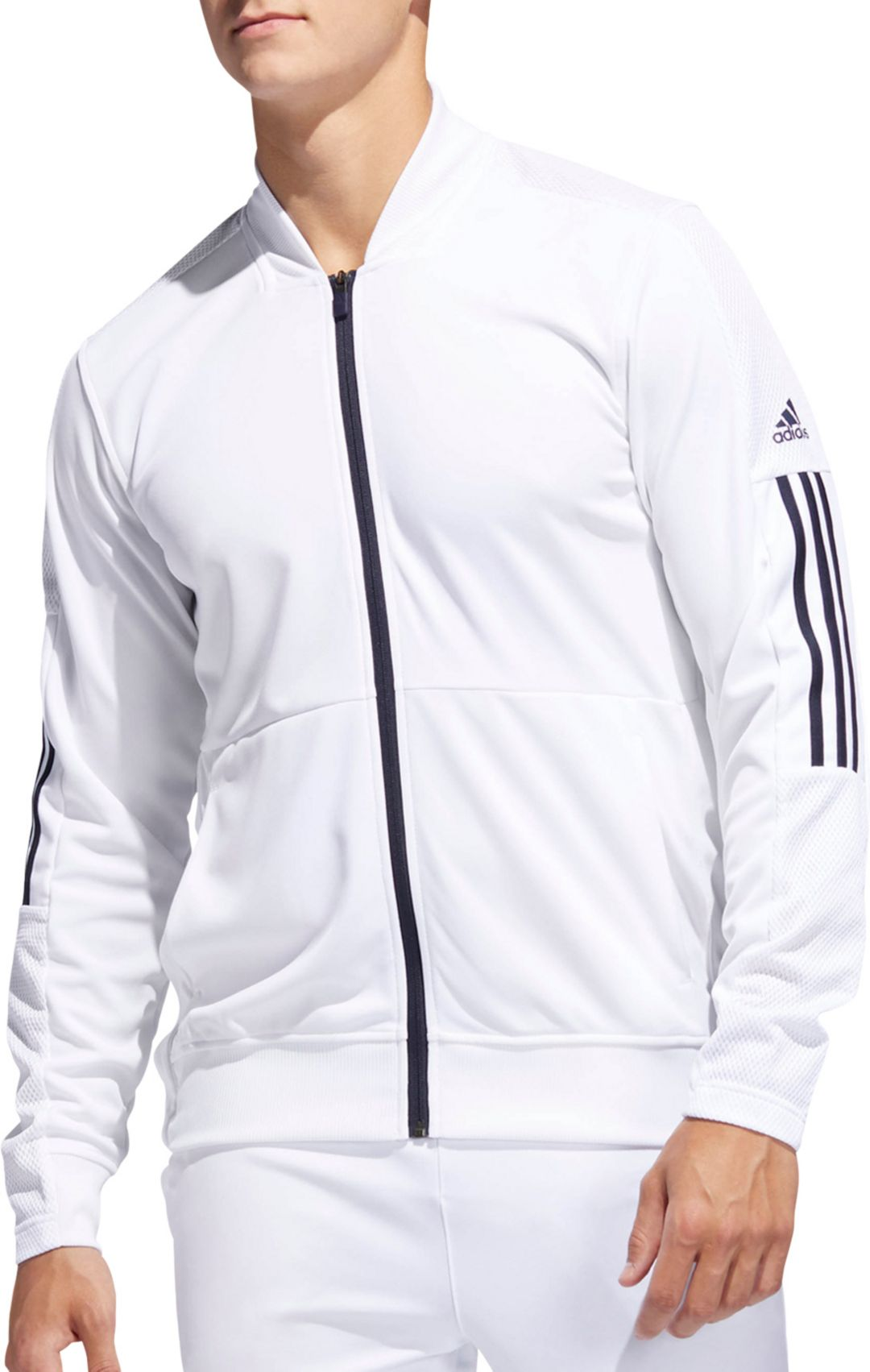 aea83707fa988 adidas Men's Side Snap Full-Zip Track Jacket