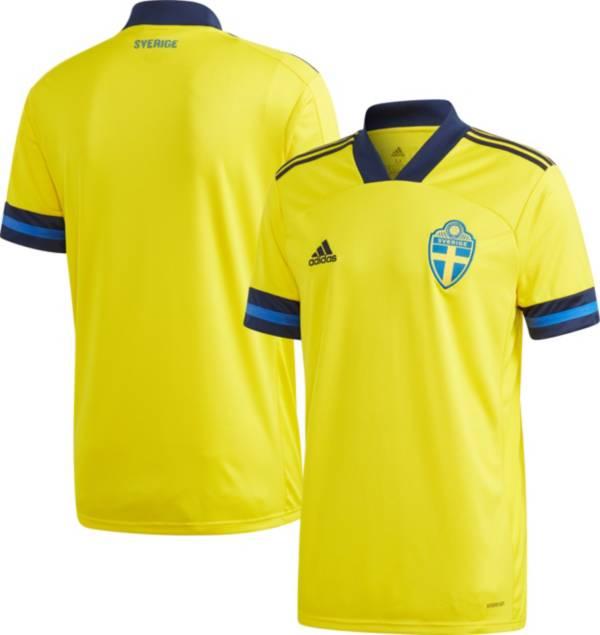 adidas Men's Sweden '19 Stadium Home Replica Jersey product image