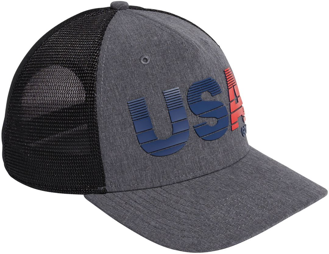 4275e72d29 adidas Men's USA Trucker Golf Hat