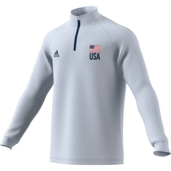 adidas Men's USA Volleyball ¼ Zip Jersey product image
