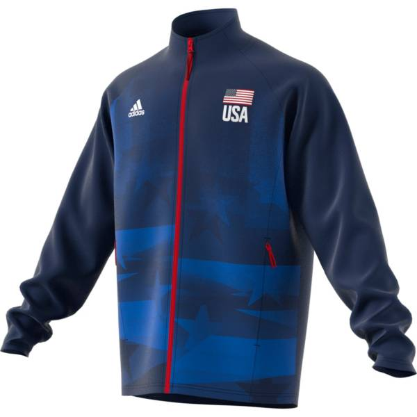 adidas Men's USA Volleyball Warm-Up Jacket product image
