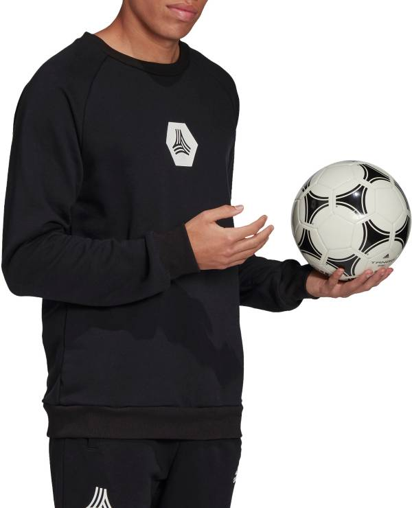 adidas Men's Tango Logo Pullover Crewneck Sweatshirt product image