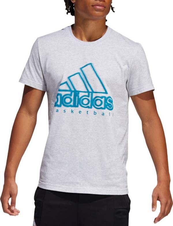 adidas Men's Wanted Logo Basketball T-Shirt (Regular and Big & Tall) product image