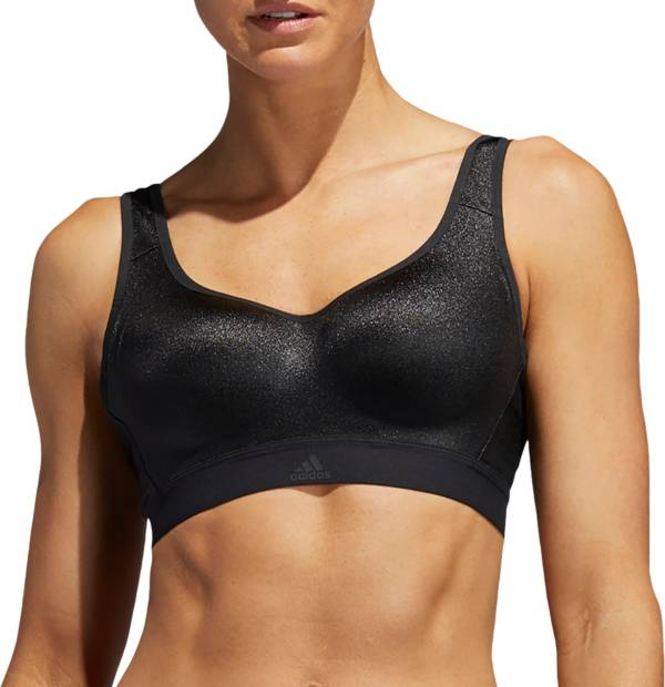 adidas Women's Stronger For It 3-Stripe High Support Shape Bra product image