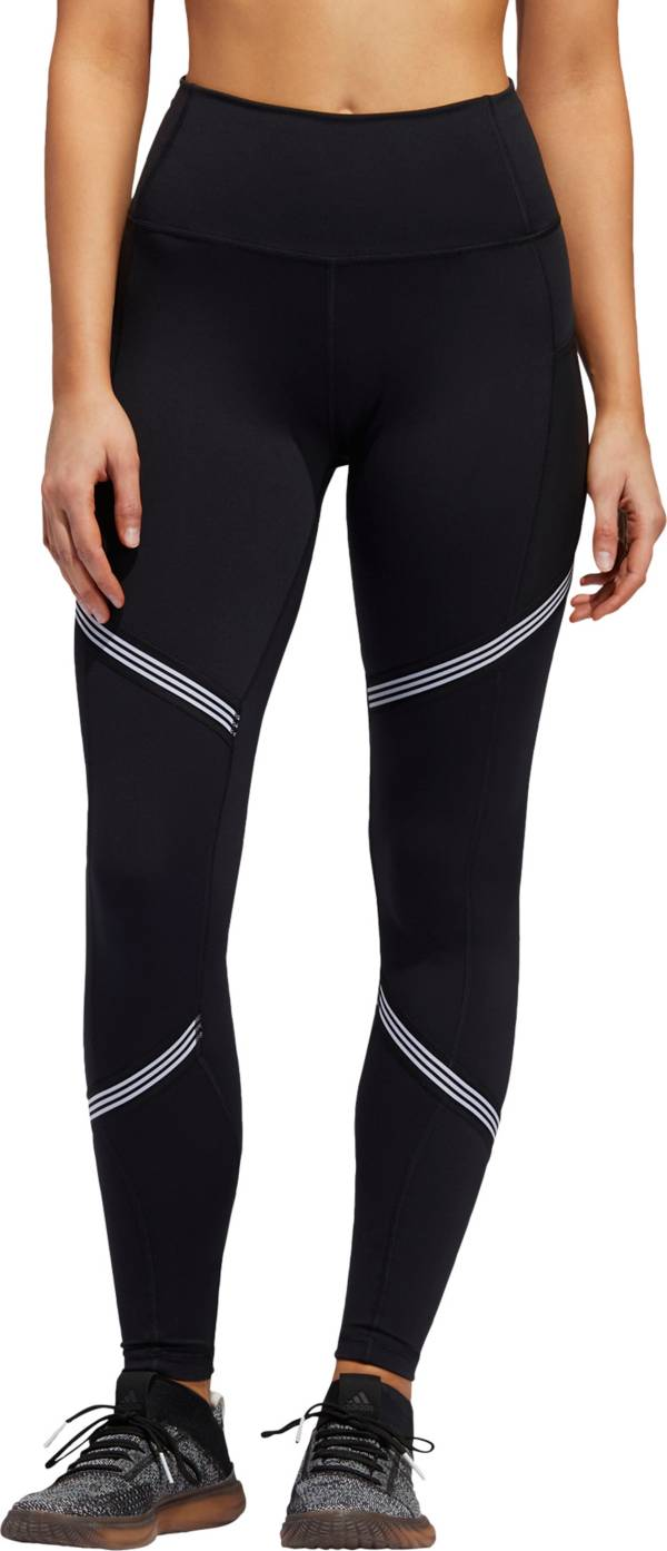 adidas Women's Believe This 3-Stripes 7/8 Tights product image