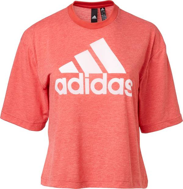 adidas Women's Must Haves Badge Of Sport Burnout Graphic T-Shirt product image