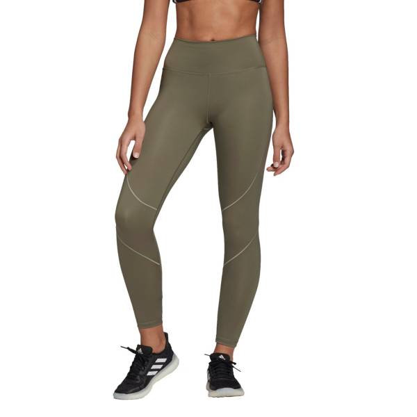 adidas Women's Believe This 2.0 Badge of Sport Wrap 7/8 Tights product image