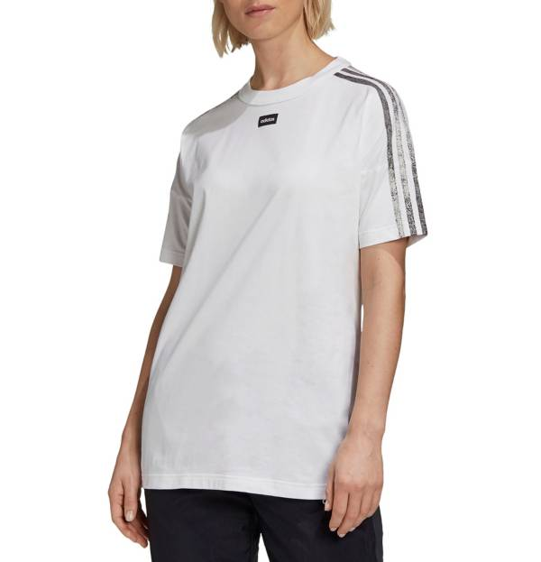 adidas Women's Design To Move 3 Stripe T-Shirt product image