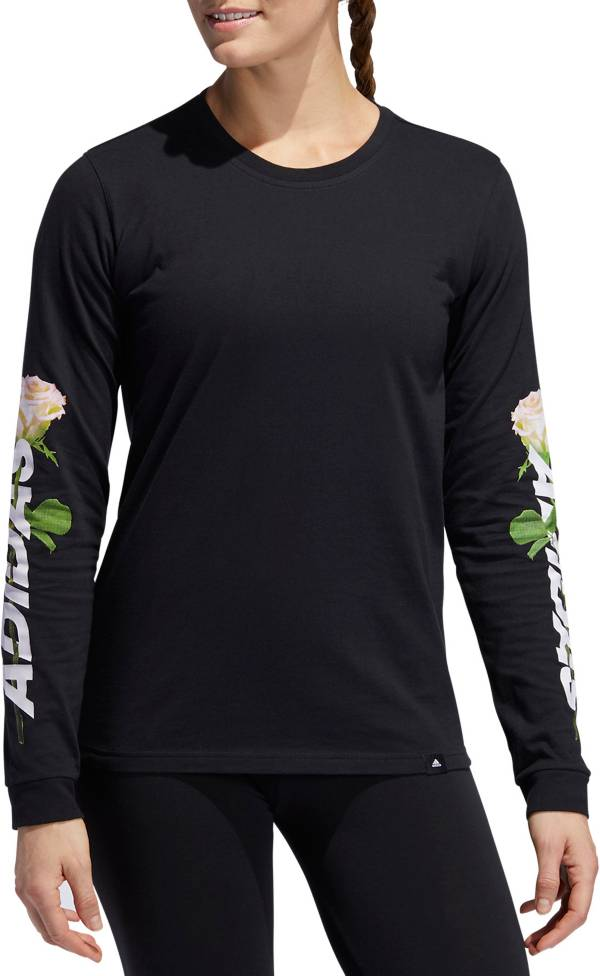 adidas Women's Floral Long Sleeve Shirt product image