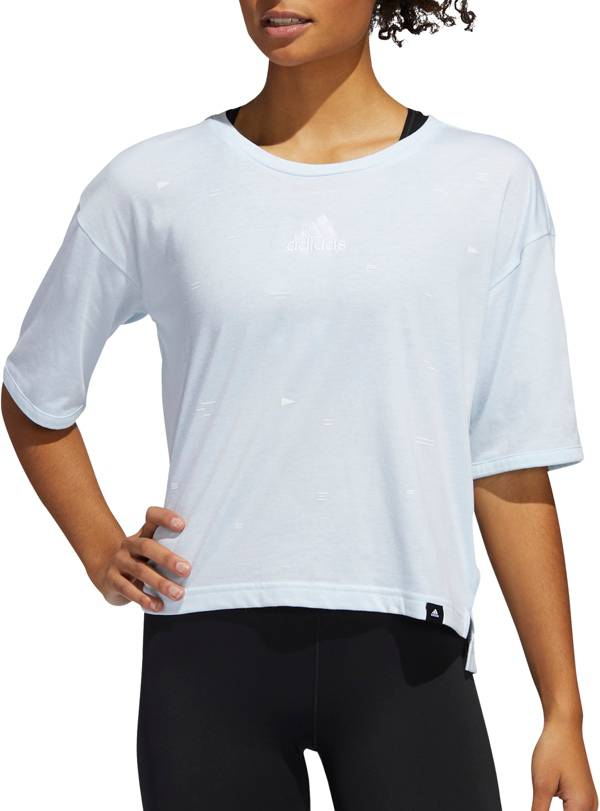 adidas Women's Geo Universal Graphic Crop T-Shirt product image