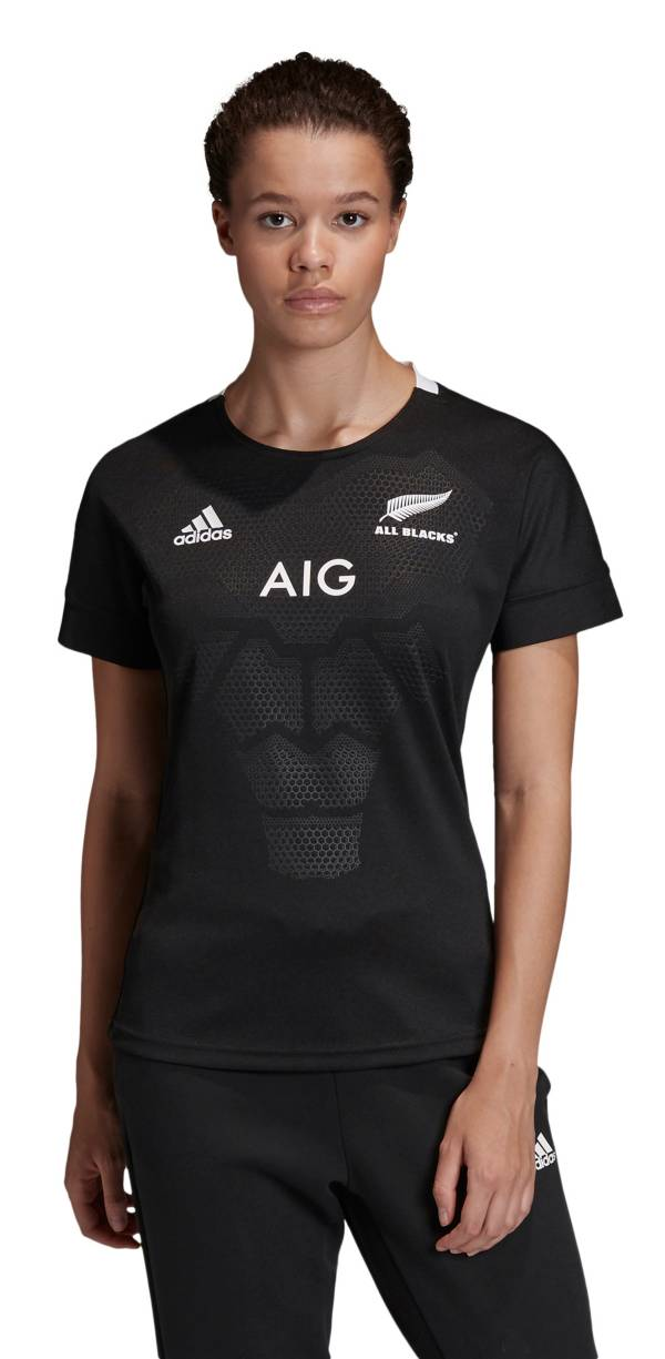 adidas Women's All Blacks Home Rugby Jersey product image