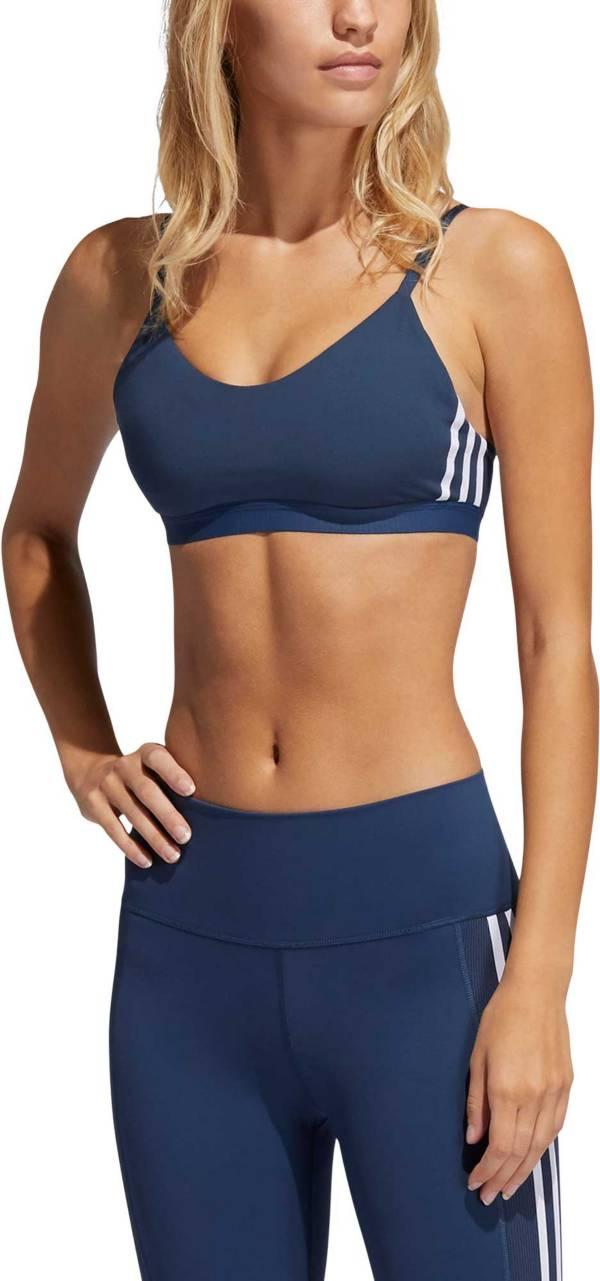 adidas Women's All Me 3-Stripe Core Bra product image