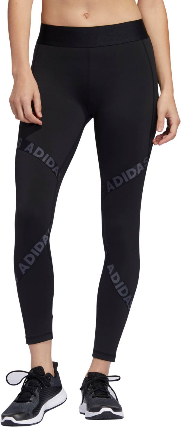 adidas Women's Alphaskin Tape Compression 7/8 Tights product image