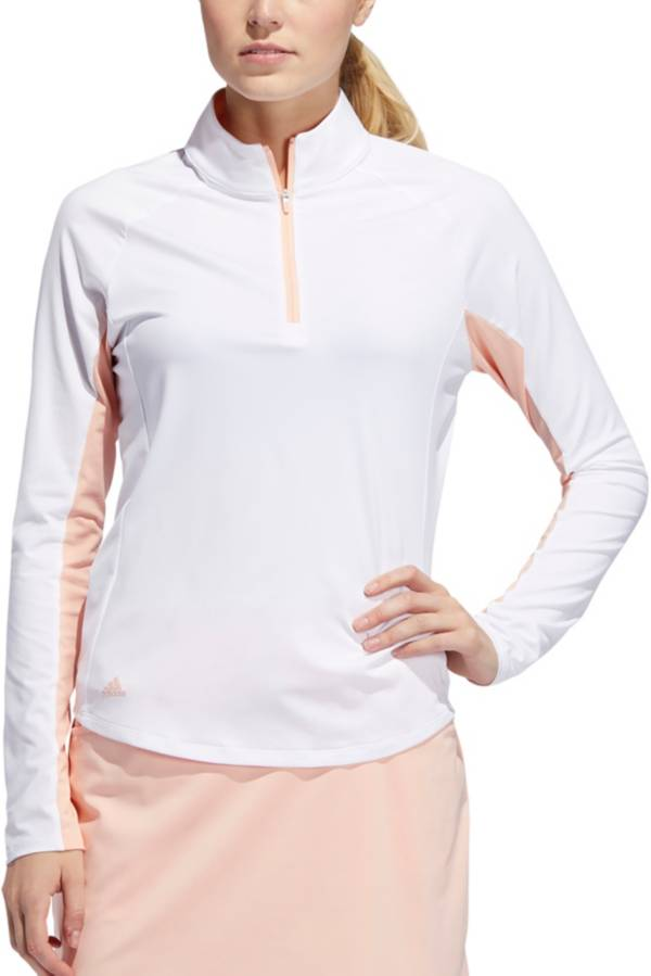 adidas Women's Ultimate Climacool Long Sleeve Golf Polo product image