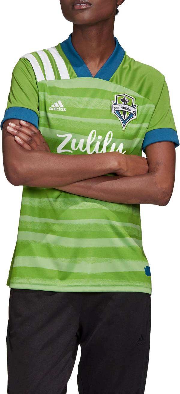 adidas Women's Seattle Sounders '20 Primary Replica Jersey product image