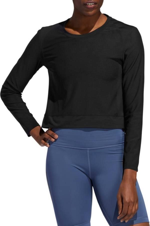 adidas Women's Mesh Coverup Long Sleeve T-Shirt product image